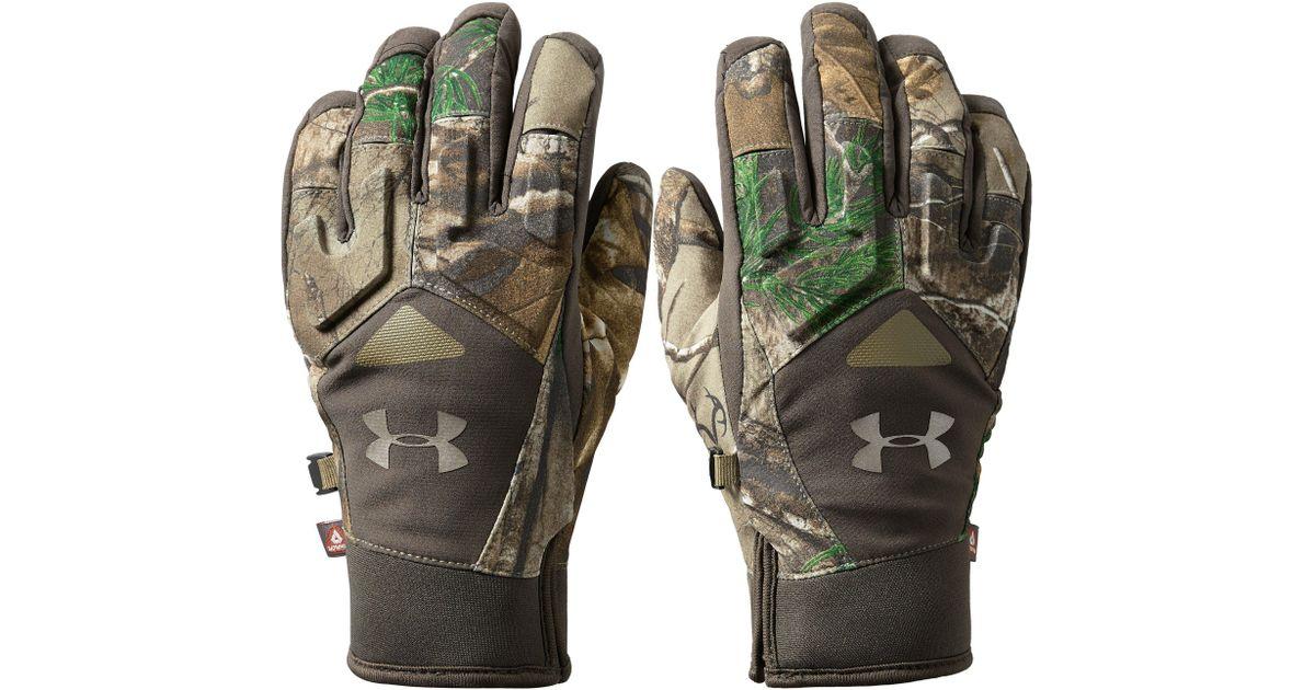 Lyst - Under Armour Women s Ua Primer Gloves in Brown 128ef0aafc