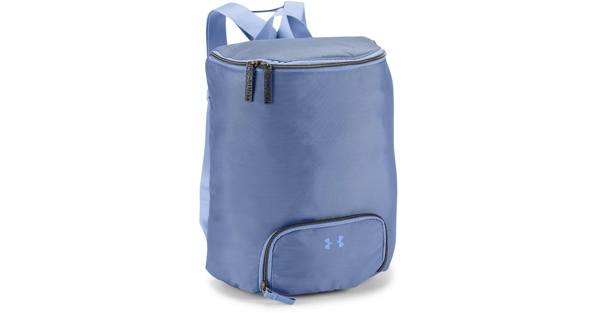 849f9d17f040 ... Lyst - Under Armour Womens Ua Midi Backpack in Blue super popular 0eb79  957cb ...
