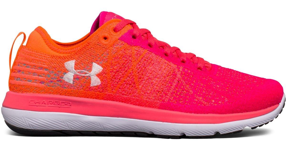 the best attitude a7555 b946e Under Armour Pink Women's Ua Threadborne Fortis 3 Running Shoes