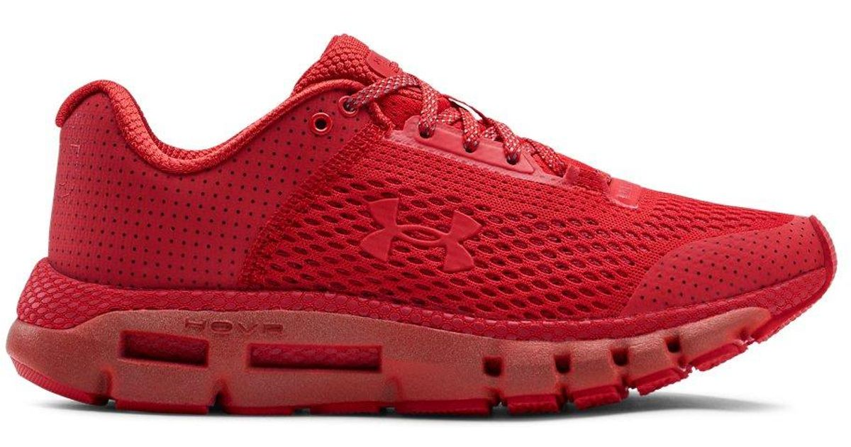 best service 3add8 7ff05 Under Armour - Red Hovr Infinite Reflect - Lyst
