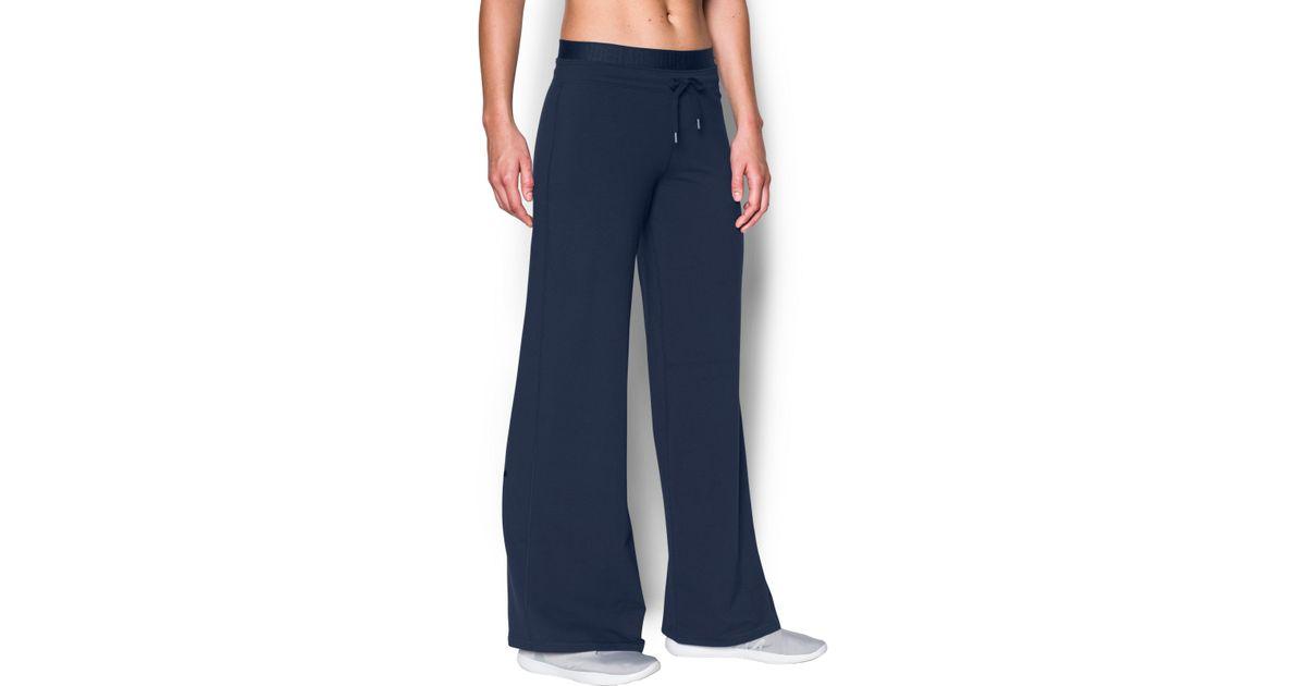 bd38b8f3 Under Armour Blue Women's Ua Favorite Wide Leg Pant