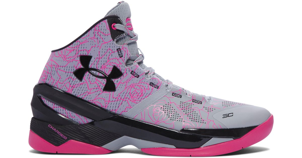 4a38387be5b5 Lyst - Under Armour Men s Ua Curry Two Basketball Shoes in Pink for Men ...