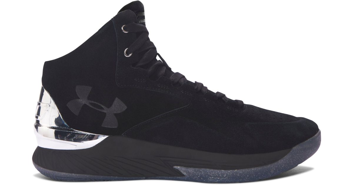 9f9977d5fd under armour curry lux; lyst under armour mens ua curry lux basketball shoes  in black for men