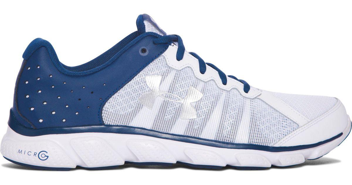 3c63b965d5ddd Under Armour Blue Men's Ua Micro G® Assert 6 Running Shoes for men