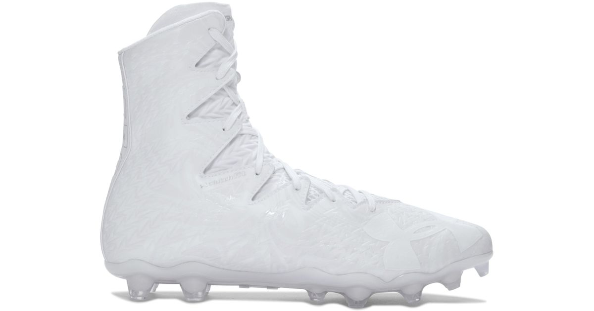 f3eae90ab Under Armour Men's Ua Highlight Lux Mc Football Cleats in White for Men -  Lyst