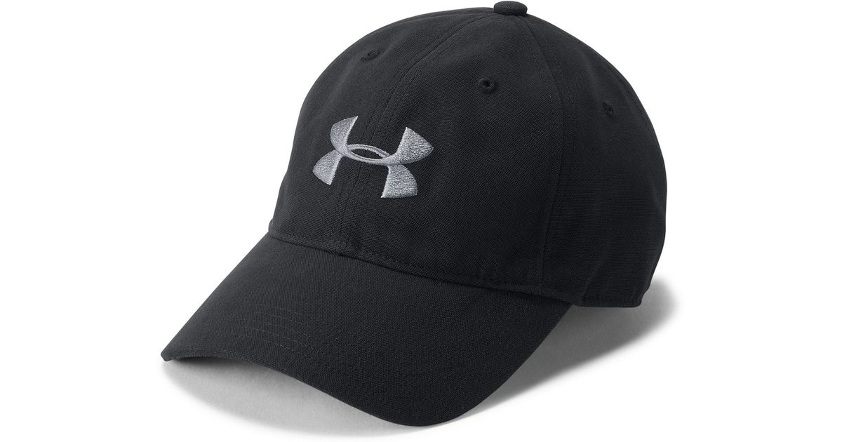 Lyst - Under Armour Men s Ua Core Canvas Cap in Black for Men facb621e40dd