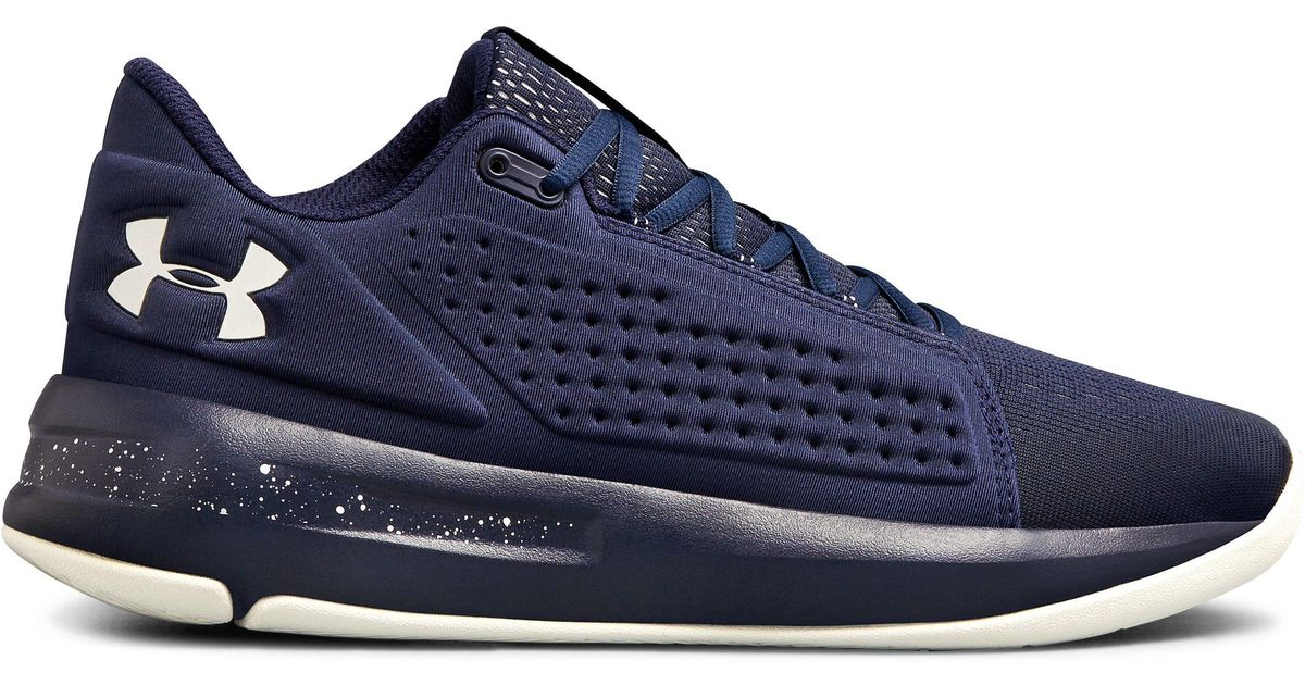 the latest 4e275 bd6ff Under Armour Blue Men's Ua Torch Low Basketball Shoes for men