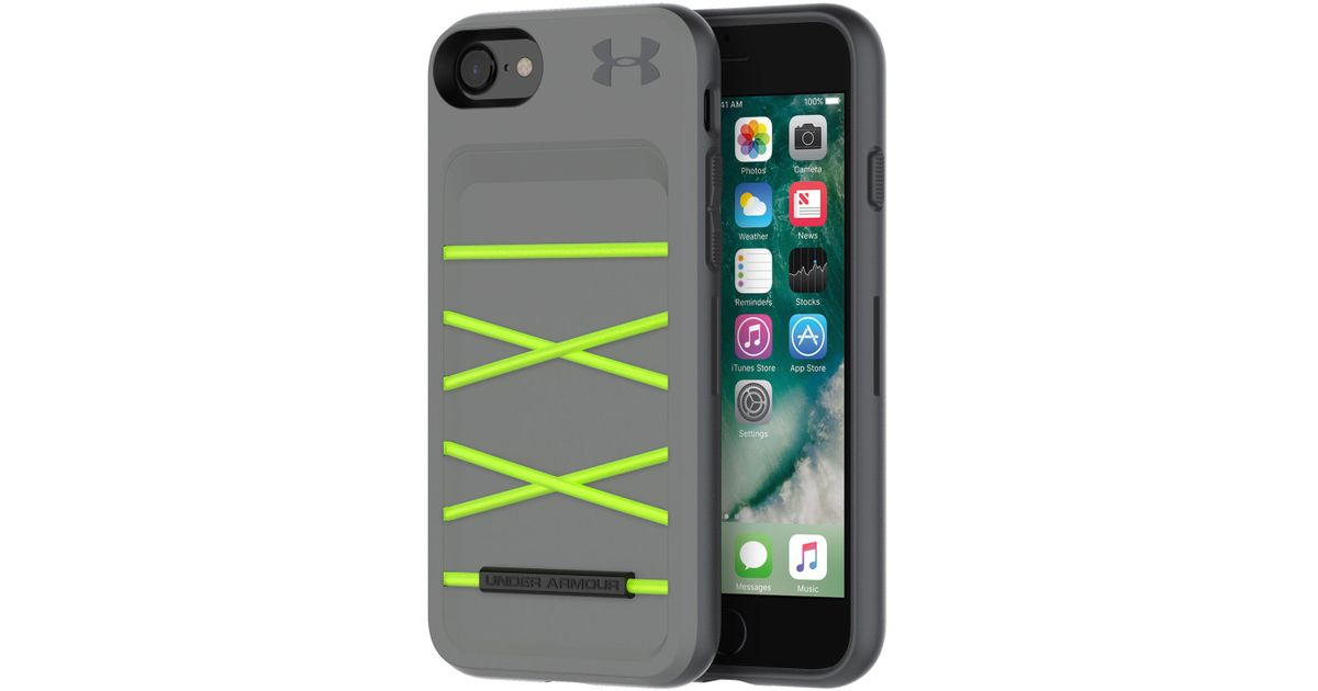 competitive price 18c49 0b5db Under Armour Green Ua Protect Arsenal Case For Iphone 8/7/6/6s