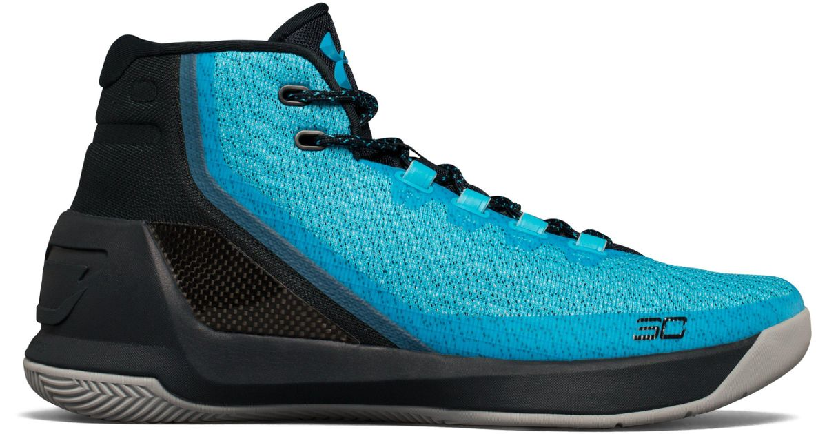 new products 469b1 76237 Under Armour Blue Men's Ua Curry 3 Basketball Shoes for men