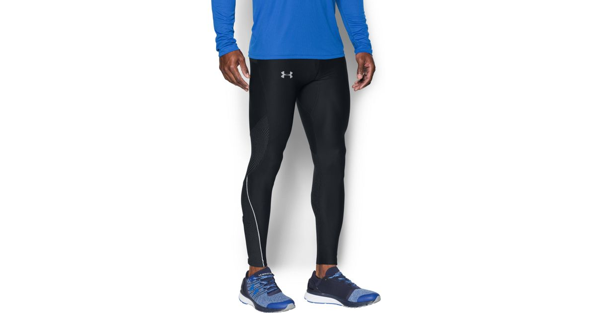bc23662a215e5 Under Armour Men's Ua No Breaks Printed Run Leggings in Black for Men - Lyst