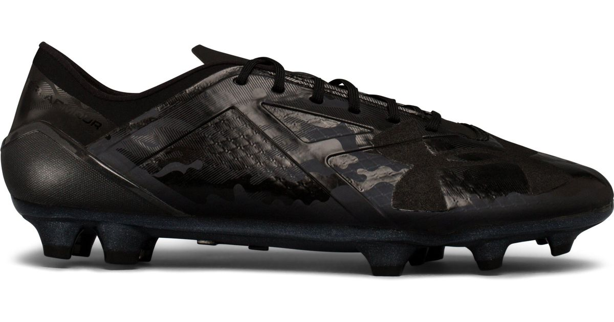 339d9e4b1 ... clearance lyst under armour mens ua spotlight fg limited edition soccer  cleats in black for men