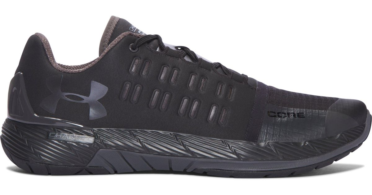 Lyst - Under Armour Men s Ua Charged Core Training Shoes in Black for Men 1fa74b06c