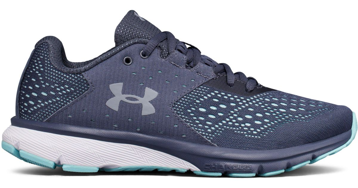 2b88e4549c Under Armour Blue Women's Ua Charged Rebel Running Shoes