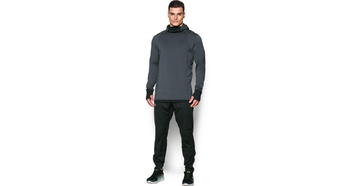 63c097865 Under Armour Men's Coldgear® Reactor Run Balaclava Hoodie in Black for Men  - Lyst