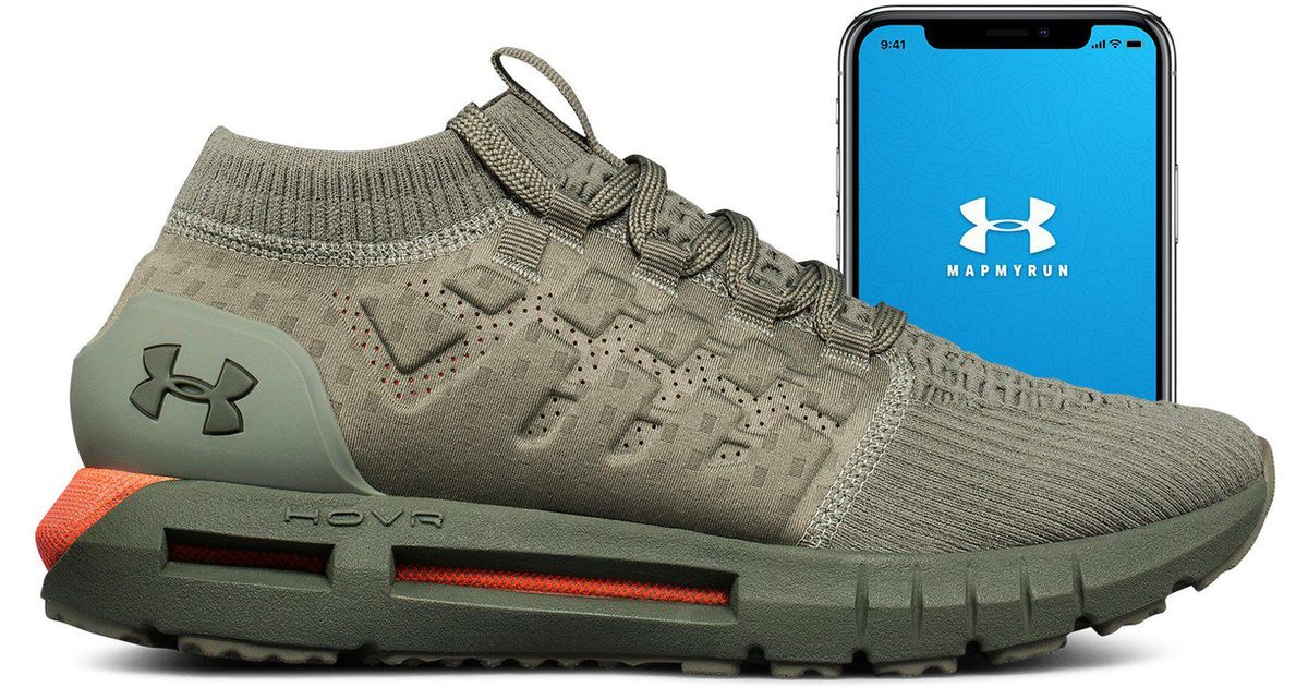 finest selection 71ff9 ebcf9 Under Armour Green Men's Ua Hovr Phantom Connected Running Shoes for men