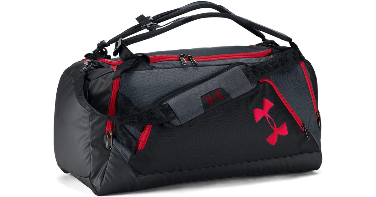 04b827cf7318 Lyst - Under Armour Ua Storm Contain Backpack Duffle 3.0 in Black for Men