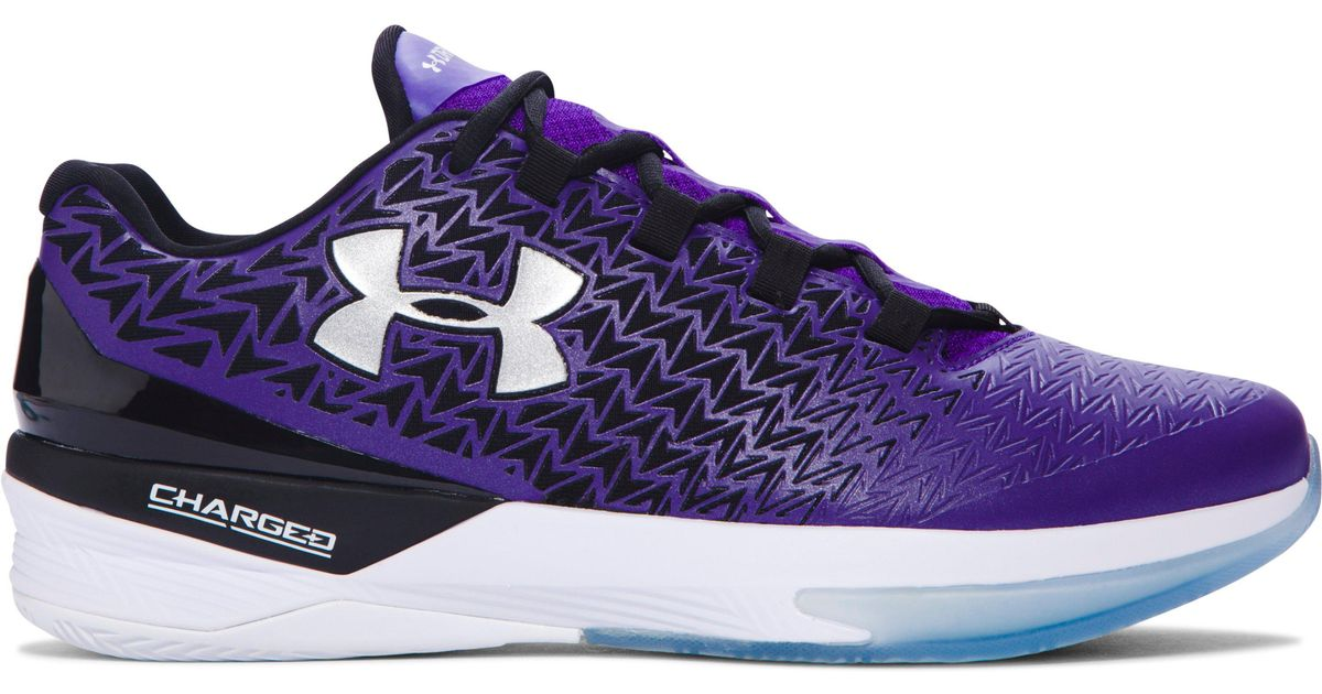 29f96a60cf04 Lyst - Under Armour Men s Ua Clutchfit® Drive 3 Low Basketball Shoes in  Purple for Men