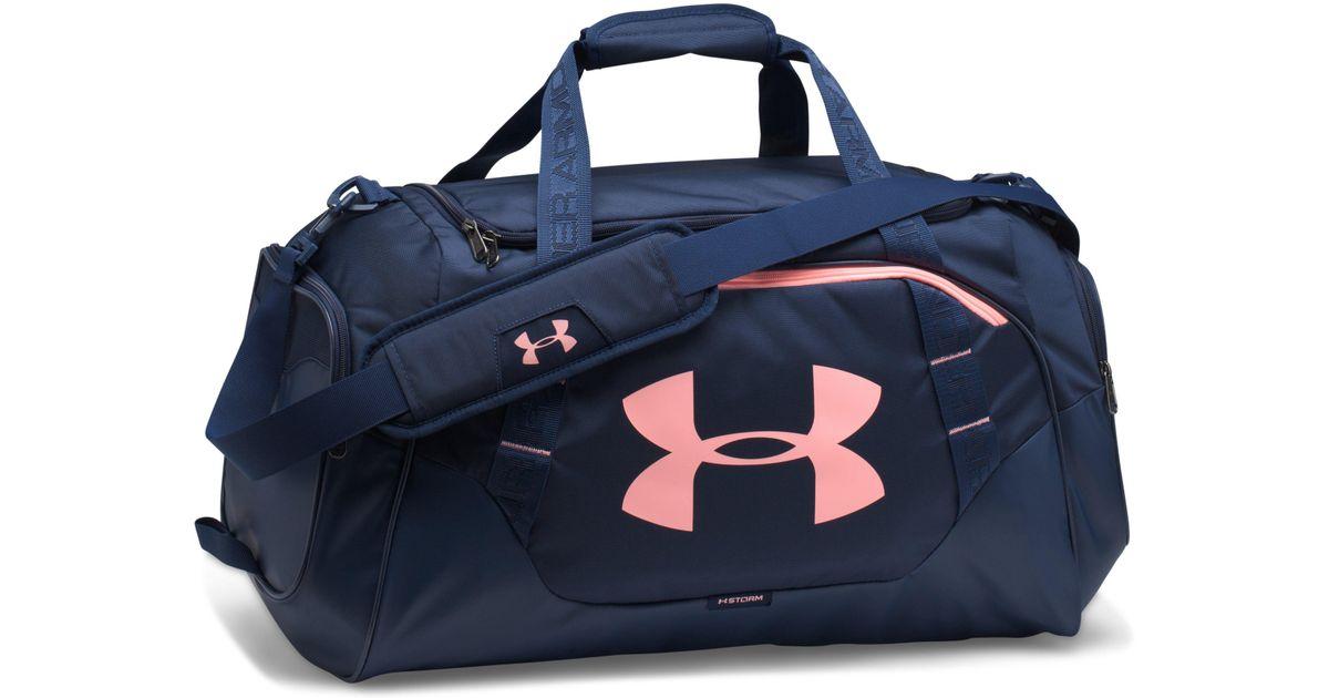 704f84bb6 Under Armour Men's Ua Undeniable 3.0 Medium Duffle Bag in Blue for Men -  Lyst