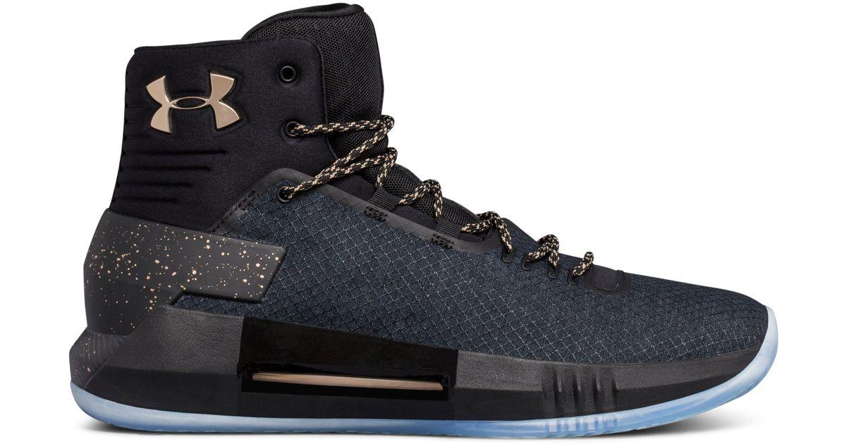Ua Drive 4 X Basketball Shoes in Black