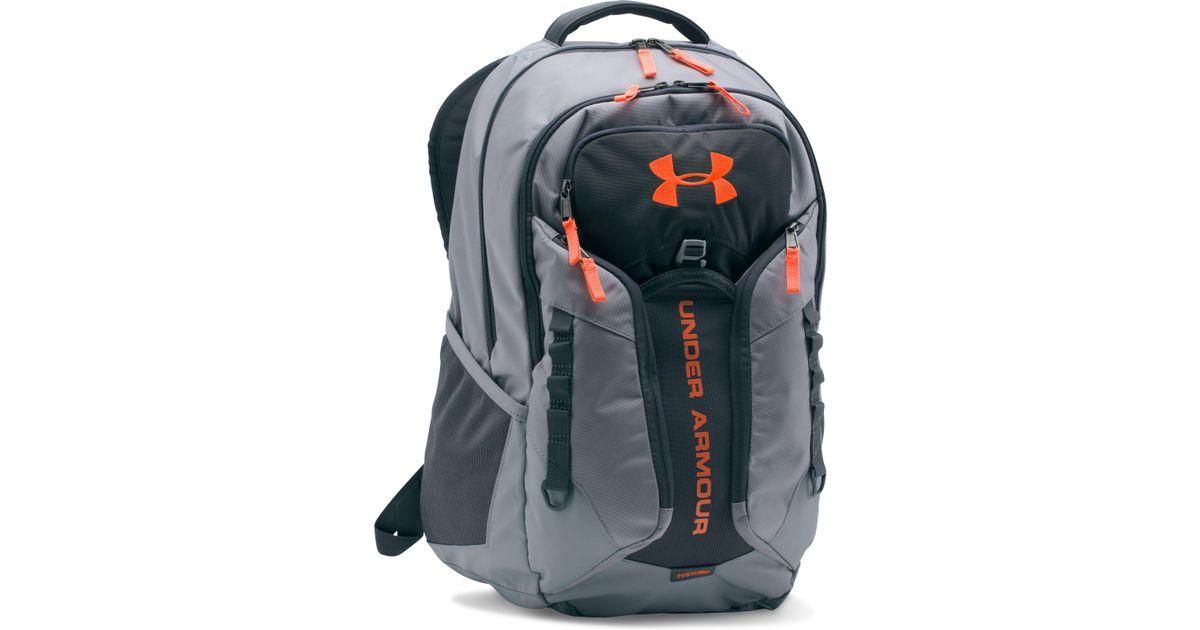 oficjalne zdjęcia specjalne do butów najtańszy Under Armour Gray Ua Storm Contender Backpack for men
