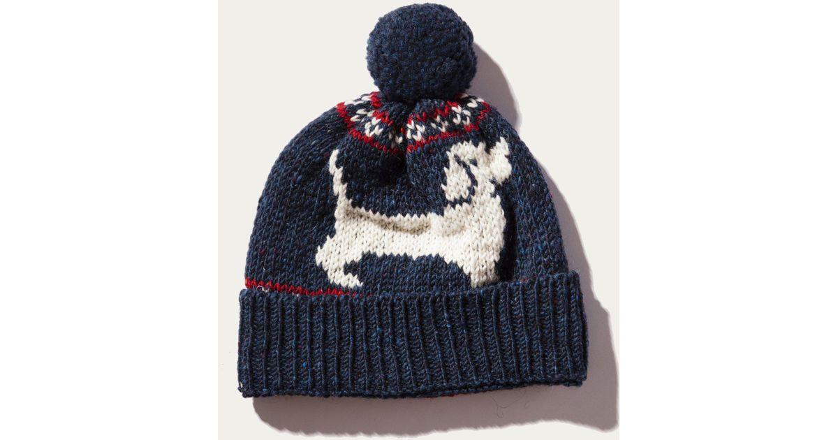 Lyst - Thom browne Hector Browne Fair Isle Jacquard Hat (pom Pom ...