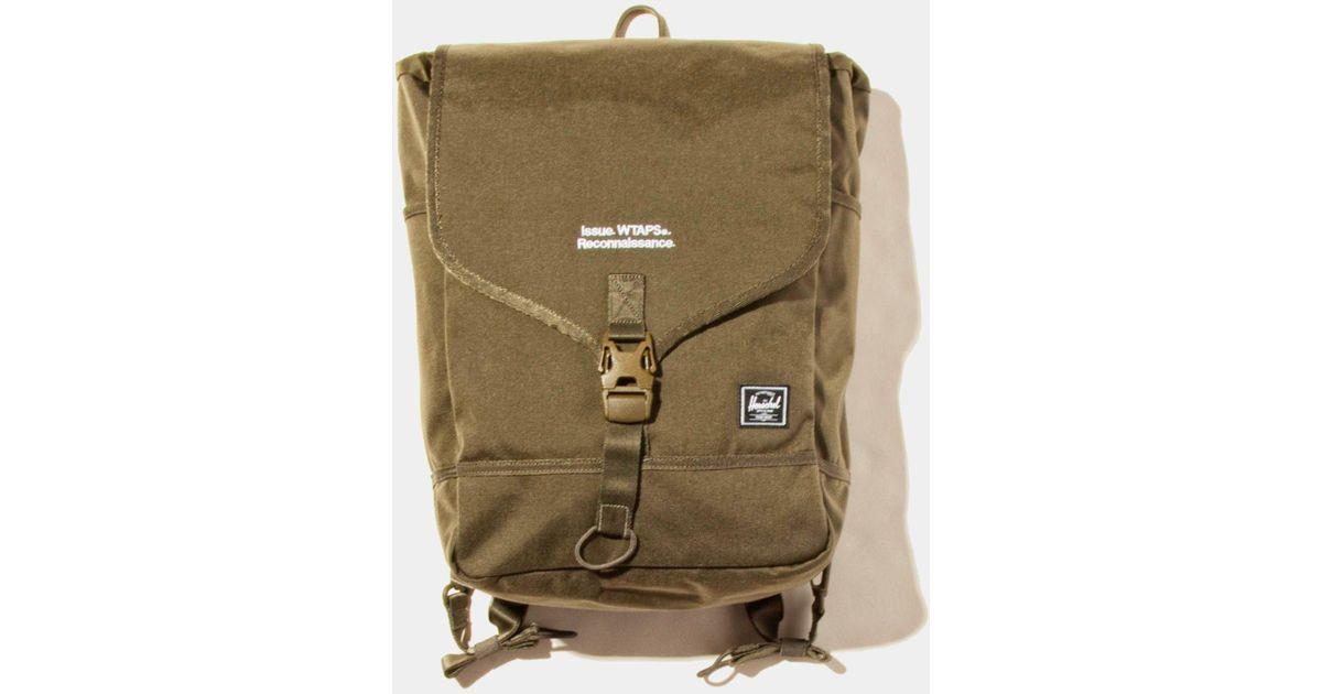 d590b15ee52 Lyst - Herschel Supply Co. Herschel X Wtaps Backpack in Green for Men