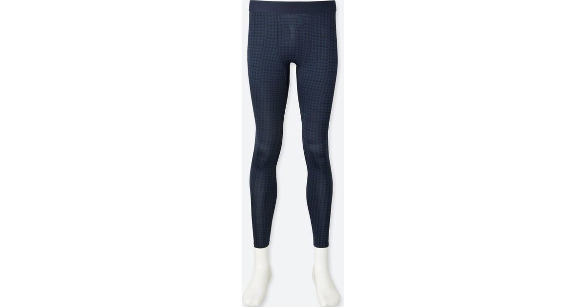 b6604001af270 Lyst - Uniqlo Sprz Ny Performance Support Tights in Blue for Men