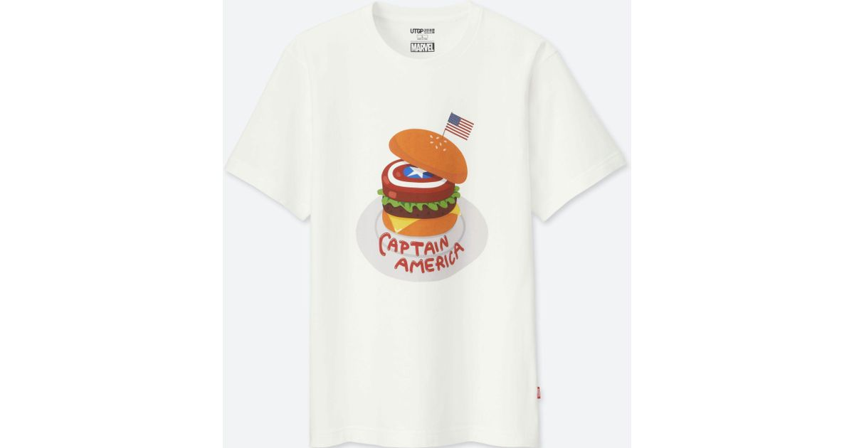 8a2c1bb4 Uniqlo Ut Grand Prix Marvel Short Sleeve Graphic T-shirt in White for Men -  Lyst