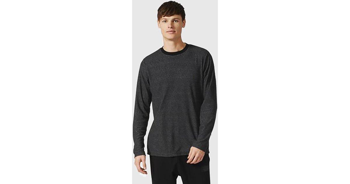 ADIDAS ORIGINALS NMD Crew Shirt Black Urban Long Sleeve