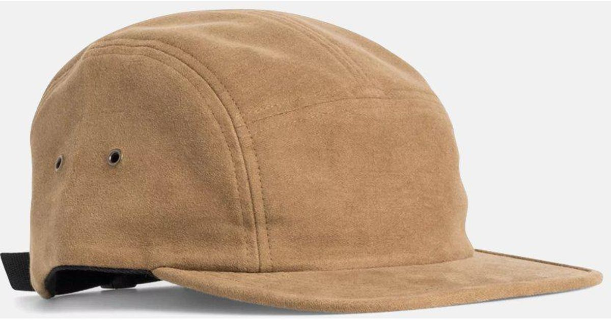 5b66025ad71 Norse Projects Moleskin 5 Panel Cap in Brown for Men - Lyst