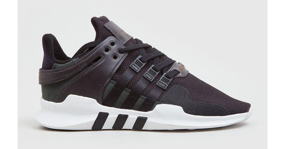 f06a28d2f76f ... where to buy lyst adidas originals adidas eqt support adv bb1295 in  black for men 8c4b2