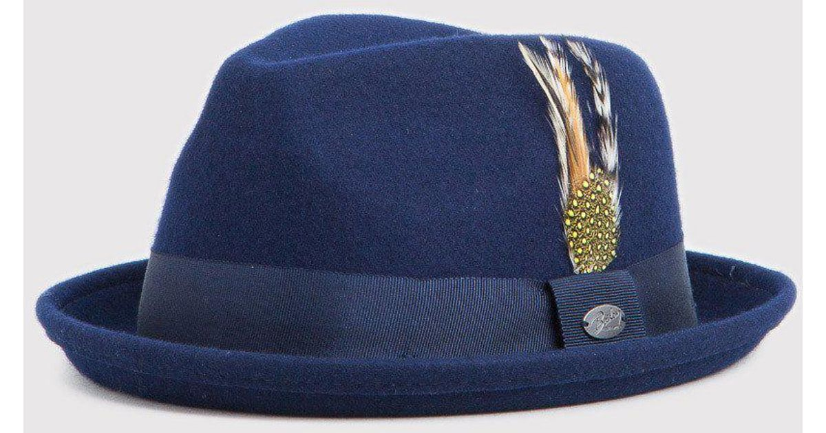 395ae3513 Bailey of Hollywood Blue Bailey Cloyd Trilby Hat for men