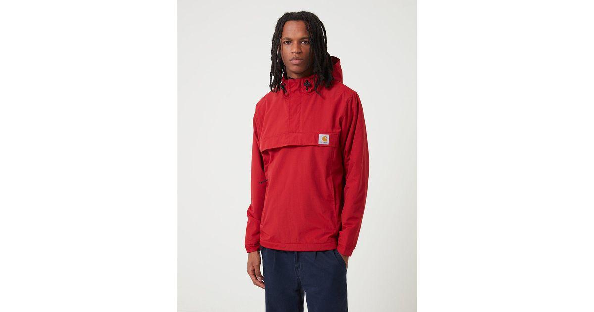 Carhartt Synthetic Wip Nimbus Half-zip Jacket (fleece ...