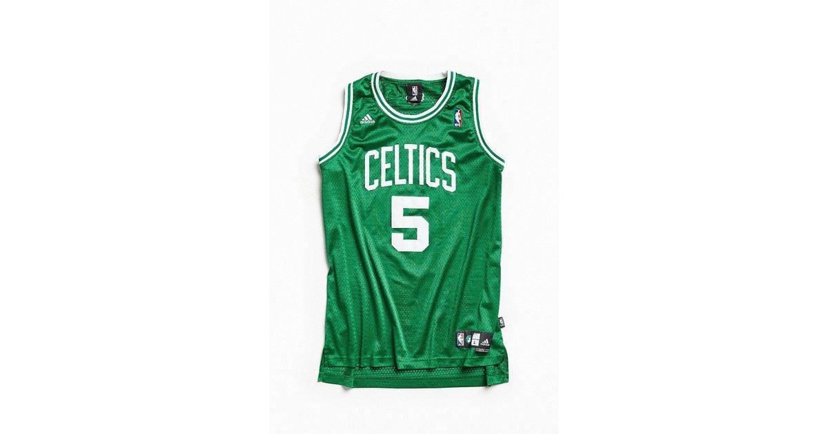 new styles 05015 1b759 Urban Outfitters Green Vintage Adidas Kevin Garnett Boston Celtics  Basketball Jersey for men