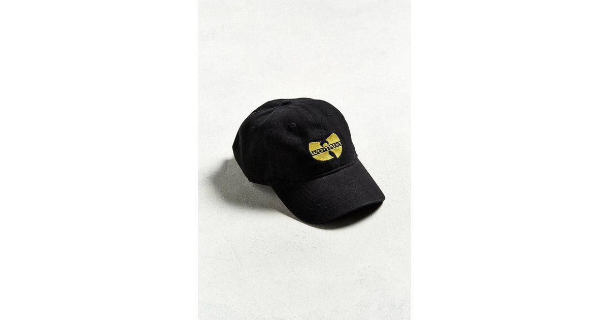 Lyst - Urban Outfitters Wu-tang Dad Hat in Black for Men 6053099d1e2