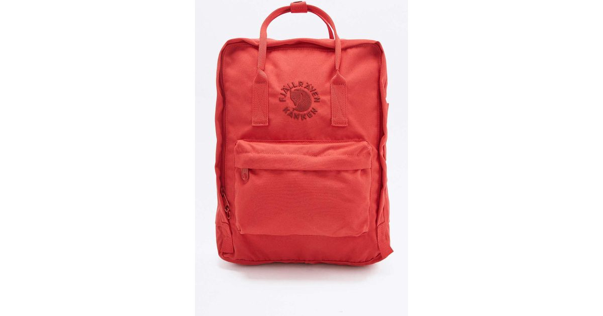 new concept new high performance sportswear Fjallraven Re-kanken Red Backpack