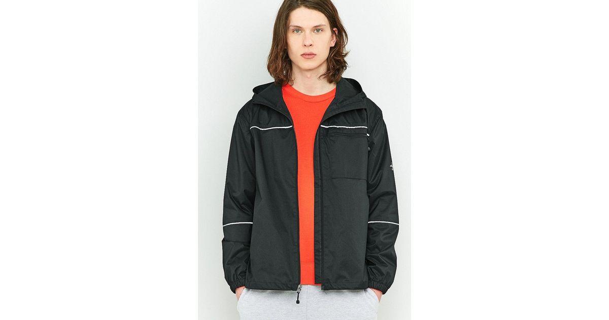 64f4fae23 Stussy Black 3m Ripstop Jacket for men