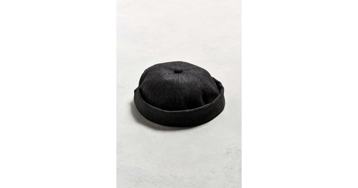 757c7500 Urban Outfitters Gray Brimless Baseball Hat for men