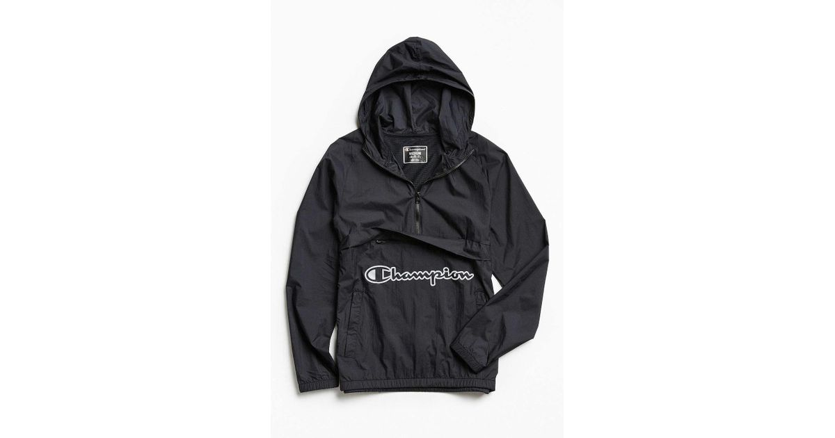 4d07920b8784 Lyst - Champion Manorak Jacket in Black for Men