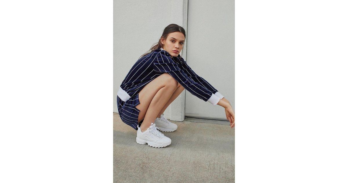 f97f878df13 Lyst - Fila Fila Disruptor 2 Premium Mono Sneaker in White