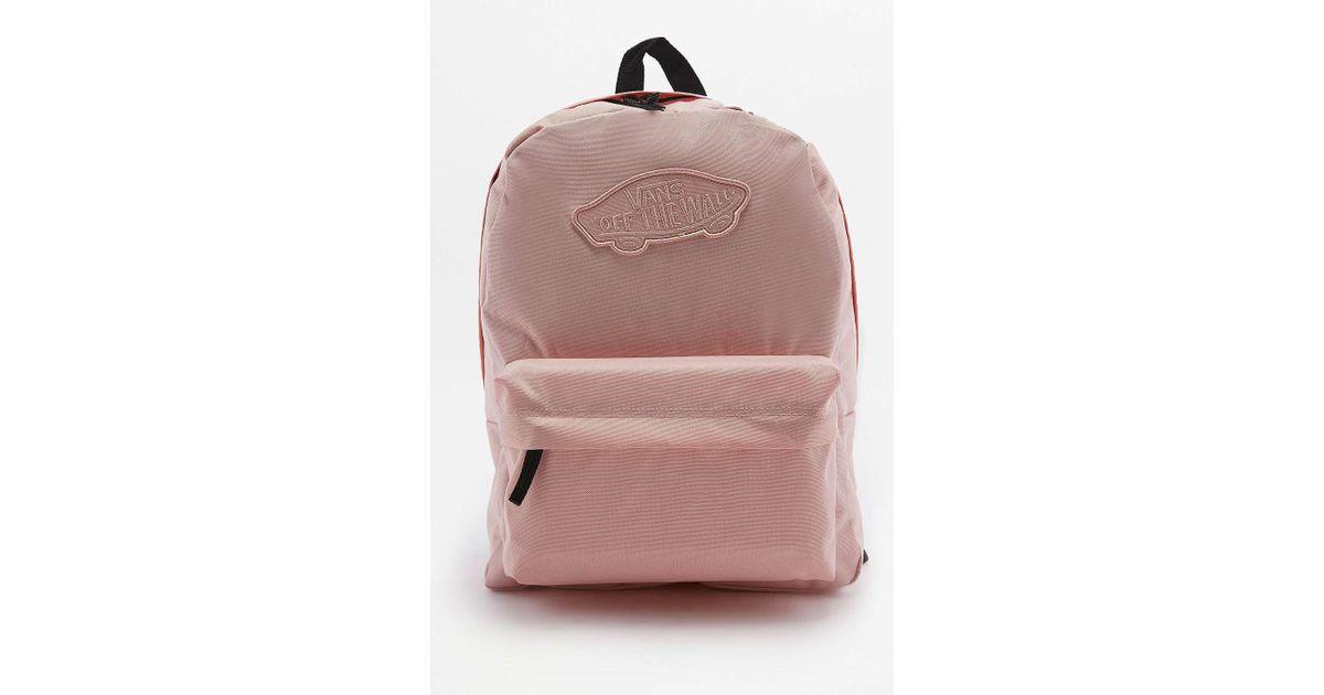 paras online saada uutta tehdashinta Vans Realm Pink Blossom Backpack