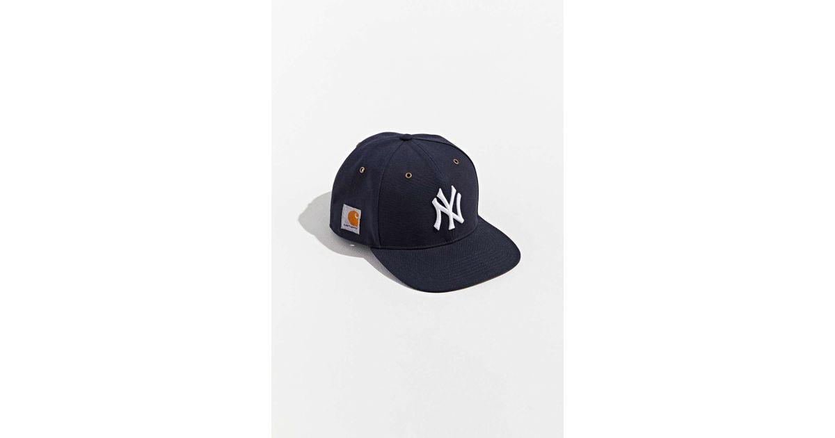 4419fe8234984 47 Brand X Carhartt New York Yankees Dad Snapback Hat in Blue for Men - Lyst