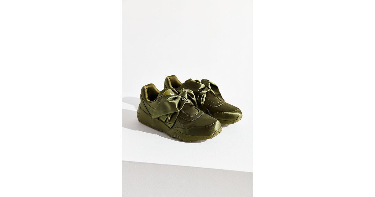 new product 20c1e 8a026 PUMA Green Fenty By Rihanna Bow Sneaker
