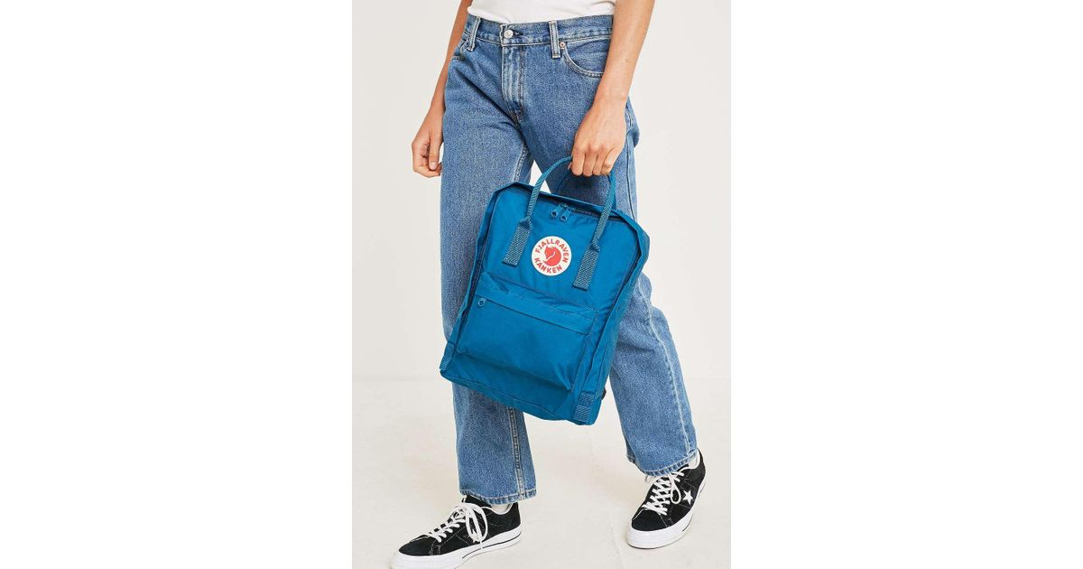 94e021aabc0b Fjallraven Kanken Glacier Green Backpack - Womens All in Blue - Lyst