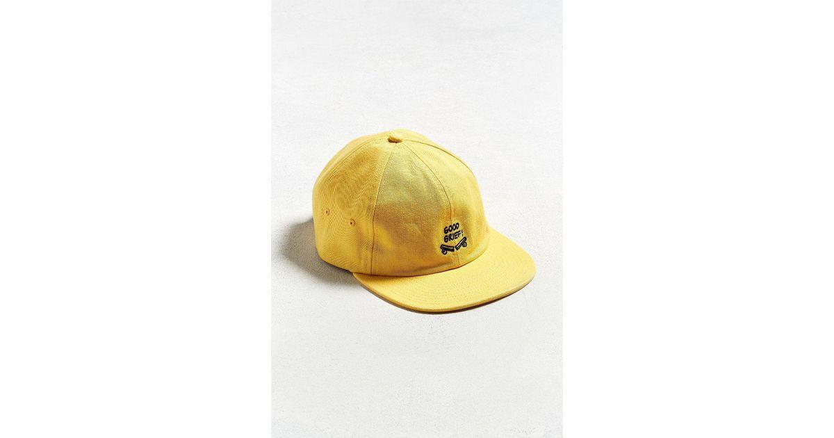 5ef079b757f Lyst - Vans Vans X Peanuts Jockey Hat in Yellow for Men