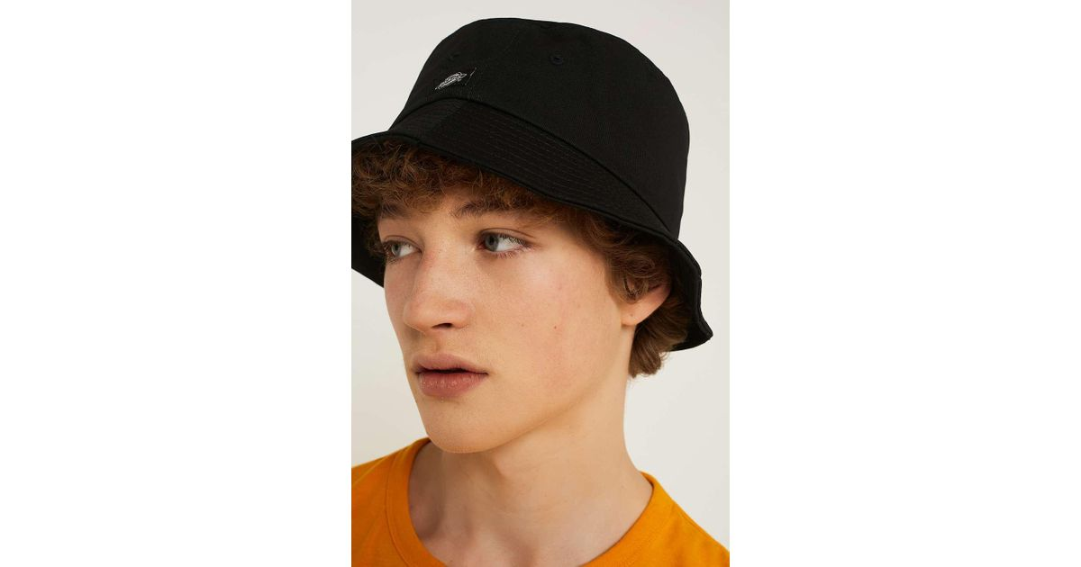 Dickies Addison Black Bucket Hat - Mens All in Black for Men - Lyst 1bdb35d64dd