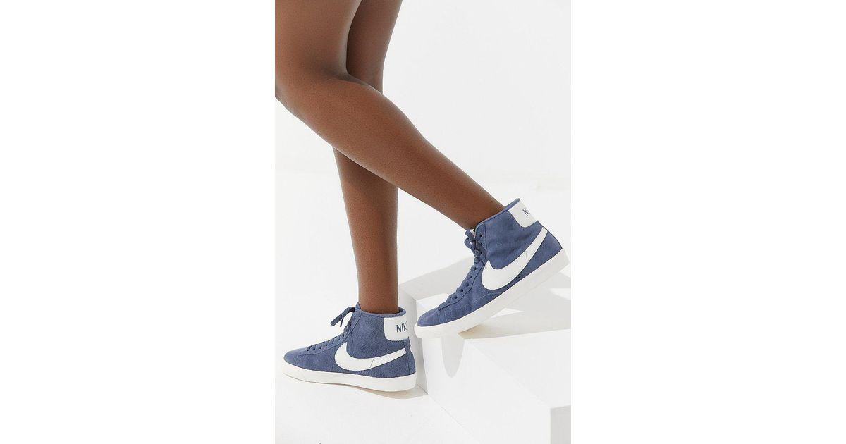 best cheap c04ee 66501 Lyst - Nike Nike Blazer Mid Vintage Sneaker in Blue