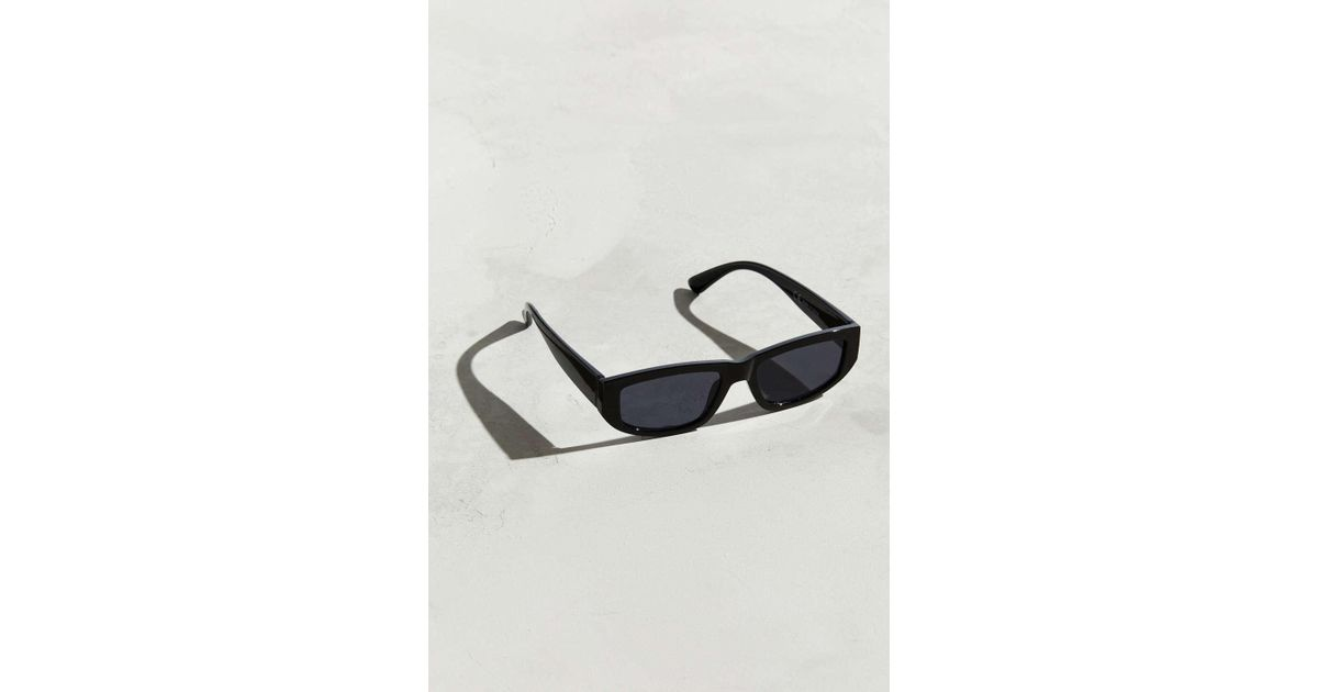 6c4da08da1 Lyst - Urban Outfitters Chunky Plastic Sunglasses in Black for Men - Save  55%