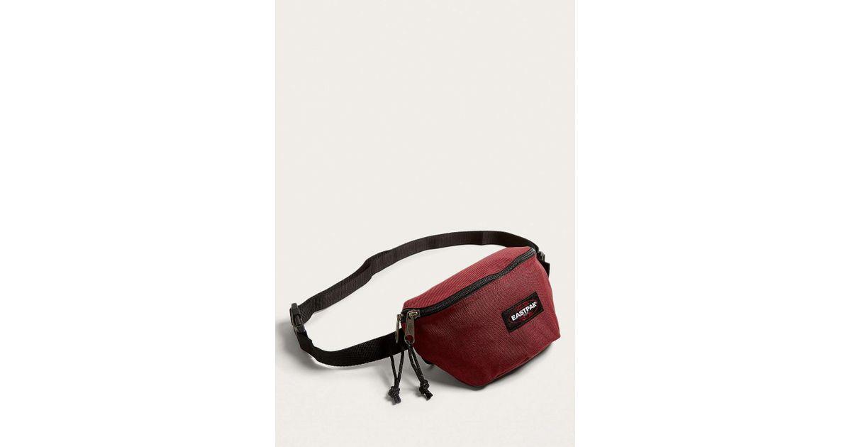 c0dd5d00a896aa Eastpak Springer Crafty Wine Cross Body Bag - Mens All in Red for Men - Lyst