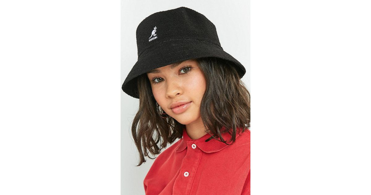 702e6466b Kangol Black Bermuda Bucket Hat